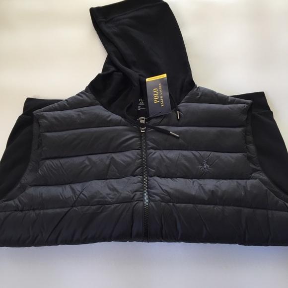 4e411e32 Polo Ralph Lauren Men's Full Zip Hoodie Vest NWT